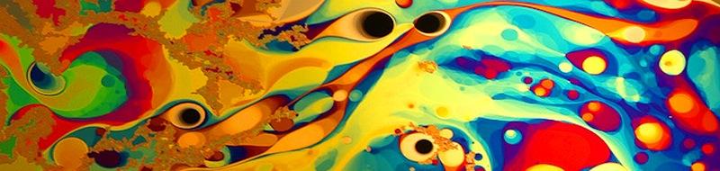 Macrofotografia con il liquido delle bolle di sapone