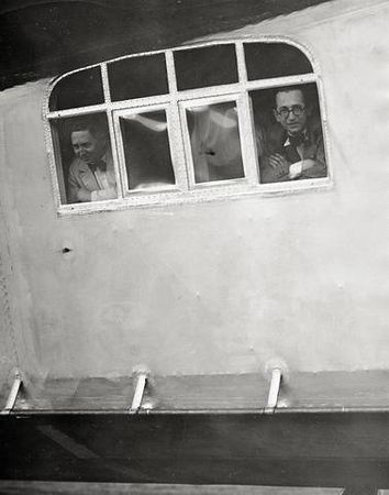 Martin Munkacsi sullo Zeppelin