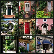 mosaico porte giardini