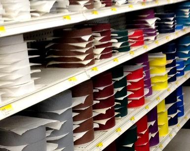 I nastri telati sono disponibili in un'infinità di tipi e colori