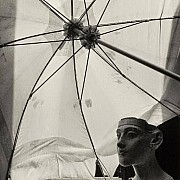 herbert list nefertiti under the umbrella 1936