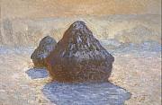 Claude Monet - Dipinto dalla serie dei Pagliai