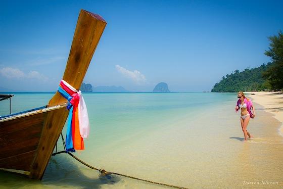 Barca sull'isola