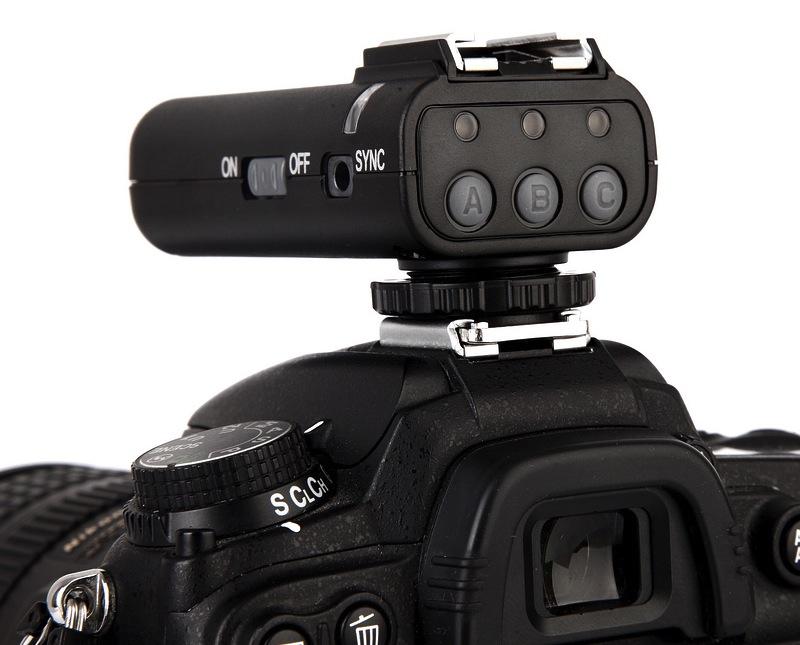 Radiocomando flash Meyin RF-604 su Nikon