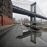 manhattan bridge reflection bobjagendorf 2244544362