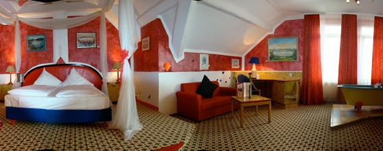 Una stanza dell'Art Fabrik Hotel Wuppertal