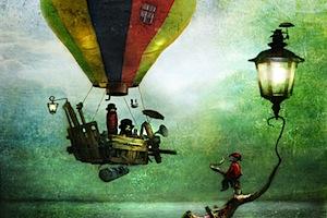 Illustrazioni magiche e fiabesche di Alexander Jansson