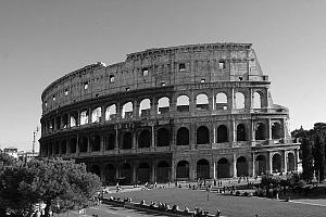 Fotografare Roma in bianco e nero