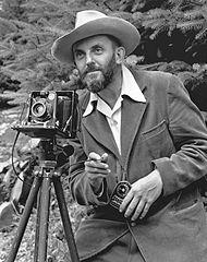 Il fotografo Ansel Adams