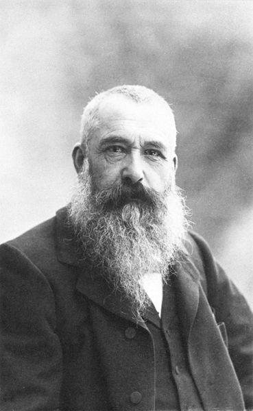Claude Monet fotografato da Nadar nel 1899