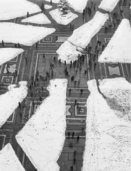 Mario De Biasi - Piazza Duomo - Milano - 1951