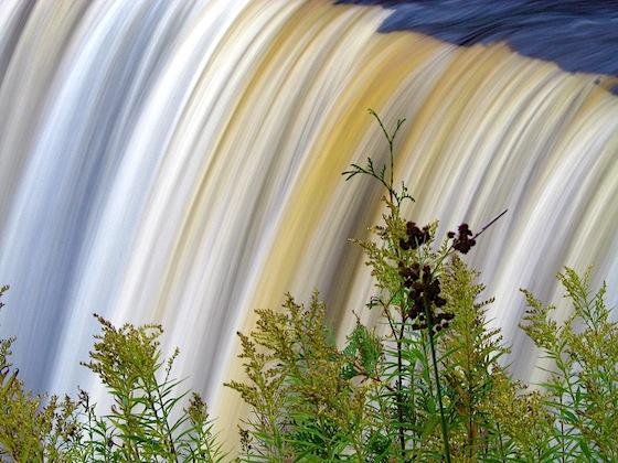 Cascata d'autunno