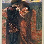 dante gabriel rossetti carlisle wall gli amanti 1853