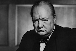 Winston Churchill - foto di Yousuf Karsh