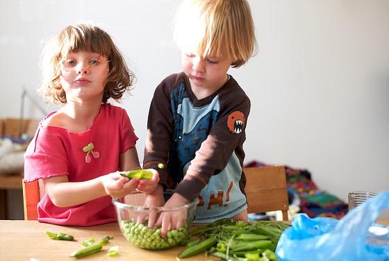 Coinvolgere i bambini in cucina
