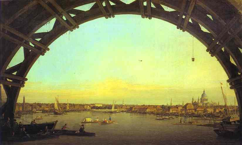 Canaletto - Westminster Bridge