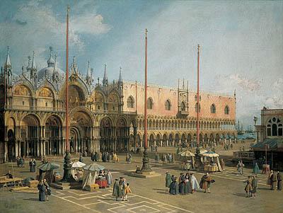 Canaletto - Venezia, Piazza San Marco