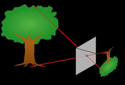Camera a foro stenopeico