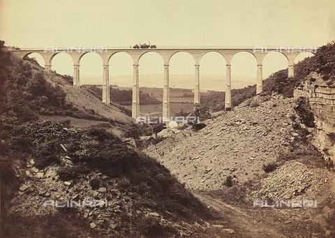 Viadotto, contea di Durham, Gran Bretagna, 1858