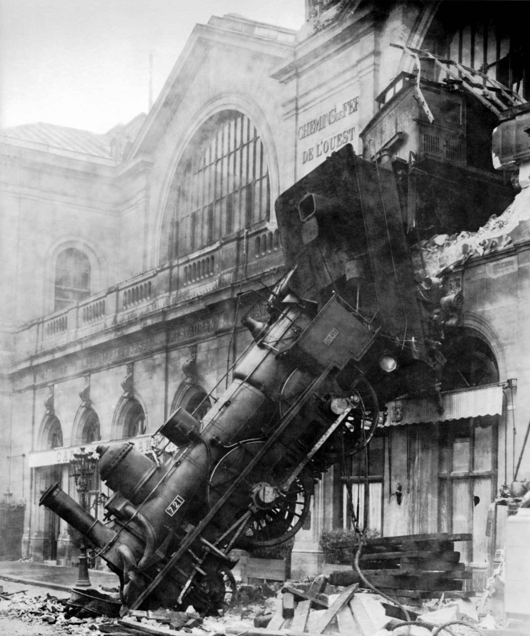 Incidente a Montparnasse, 1895