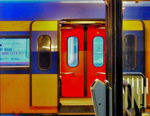 Treno in Olanda