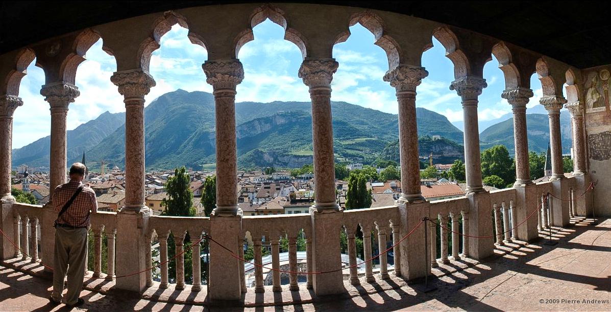 Vista dal Castello del Buonconsiglio - Trento