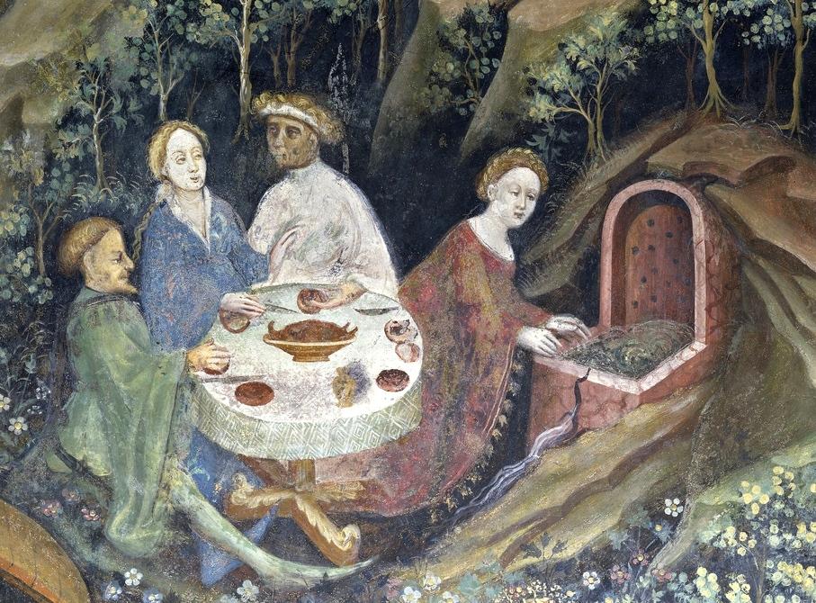 Pranzo all'aria aperta - Ciclo dei Mesi